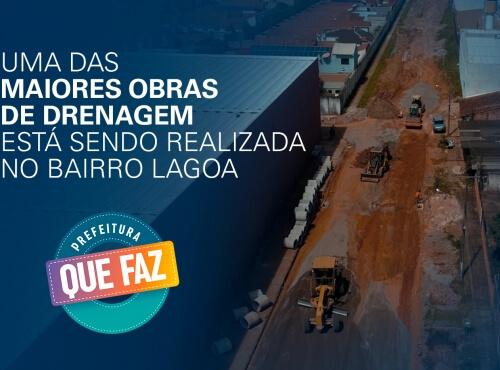 Moradores do bairro Lagoa recebem