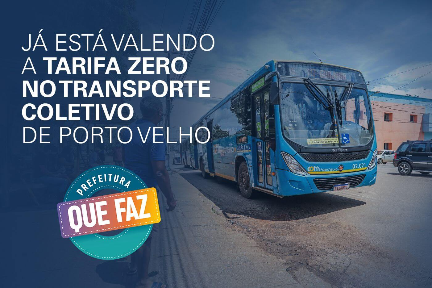 Saiba como aproveitar a gratuidade no transporte coletivo de Porto Velho