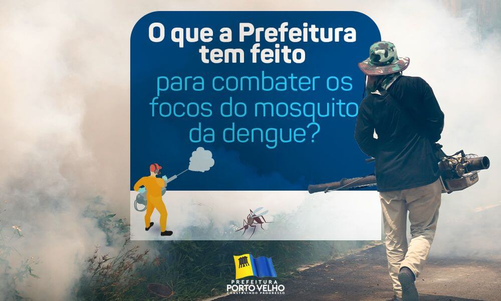 Nosso trabalho de combate aos focos do mosquito da dengue continua